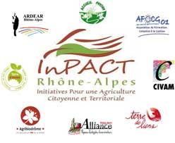 Logo INPACT et associations membres