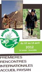 Rencontres Internationales Accueil Paysan 2012